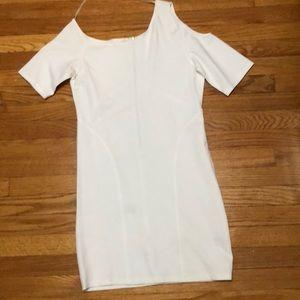 Dresses & Skirts - Off white open shoulder dress
